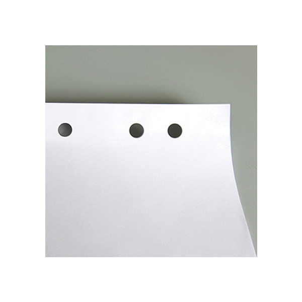 Блок паперу для фліпчарту, 64х90 см, 20 арк, нелін., поліет. 8090-A