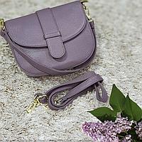Женская маленькая сумка сиреневая, фото 1