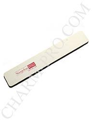 Мягкая пилочка для ногтей Niegelon 80/100 широкая белая