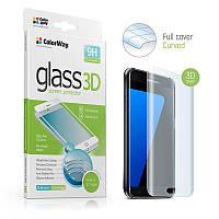 Защитное стекло ColorWay для Samsung Galaxy A8 (2018) SM-A530 Black, 0.33мм, 3D (CW-GSSCSA530B)