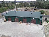 Строительство складов и ангаров в зимний период выполняется нашим предприятием с 1994года. За это время выполн