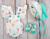 """Набор одежды для девочек """"Мальта"""", Мороженное, фото 1"""
