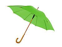 """Зонт-трость """"Радуга"""", зеленое яблоко (906123_OS)"""