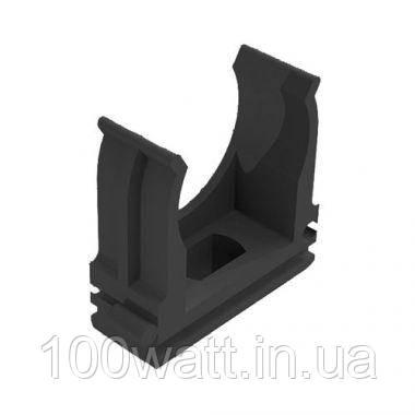 Крепёж (клипса-скоба) для гофротрубы и металлорукава D20