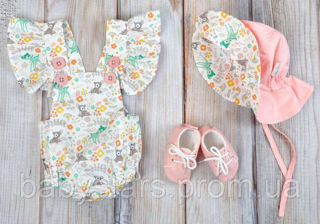 """Комплект одежды для девочек """"Мальта"""", Оленята"""