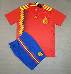 Футбольная форма Cборной Испании ЧМ 2018 выездная