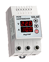 Реле напряжения/тока DigiTOP VA-40A 40A