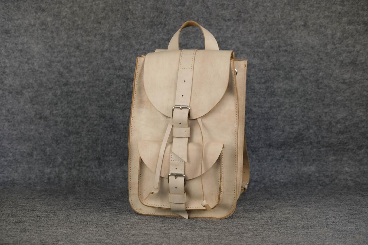 Рюкзак из натуральной кожи |12014| Пастель | Слоновая кость