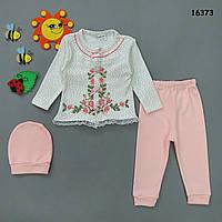 Набор с вышивкой для девочки. , фото 1