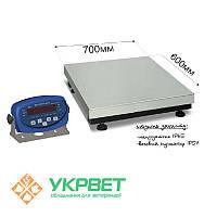 Весы товарные BDU150-0607-Б Бюджет, фото 1