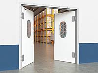 Пластиковые маятниковые двери DoorHan серии SWD
