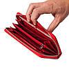 Женский кошелек кожаный красный Butun 639-004-006, фото 5