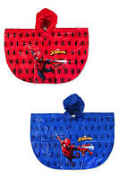 Дождевик-пончо для мальчиков Spider Man 2A,4A,6A лет