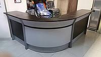 Мебель для приемных Reception Берлин венге 220х190 h95, фото 1