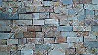"""Камень Сланец """"Шкура леопарда"""" KLVIV торцованая кладка 5 см 0.5 м.кв"""