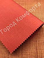 Рулонная штора LEN красный, фото 1