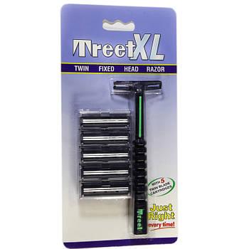 Багаторазовий двухлезвийный бритва «Treet XL ®» T0014