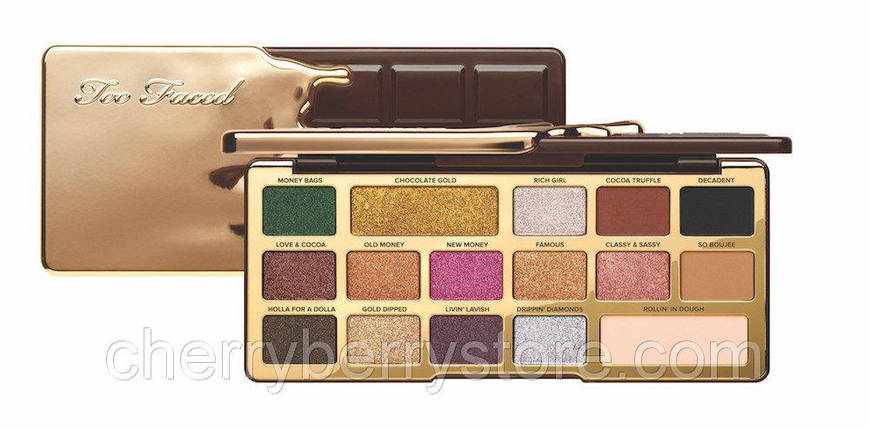 TOO FACED Chocolate Gold Palette, фото 2