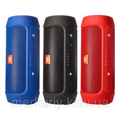 Беспроводная портативная Bluetooth колонка JBL Charge 2+ с защитой от влаги и пыли