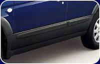 Накладки дверей комплект аксессуар Subaru Forester 02-07 S11 Оригинал (J101ESA100)