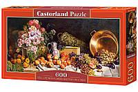 Пазлы Castorland 600 Натюрморт, B-060108  (размер картинки: 68*30см)