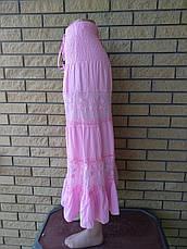 Юбка-сарафан летняя в пол коттоновая JUMP, фото 2