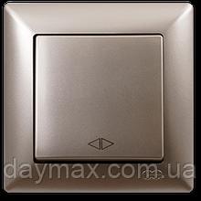 Выключатель перекрестный(реверсивный) Gunsan Visage, VS 28 25 135, золото