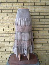 Юбка-сарафан летняя в пол коттоновая JUMP, фото 3