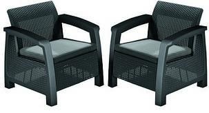 Кресло, Bahamas Duo, графит - прохладный серый, фото 2