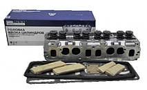 Головка блока цилиндров (ГБЦ 4216.1003001-40) Газель-Бизнес Соболь с клапанами, прокладкой и крепежом Е-II