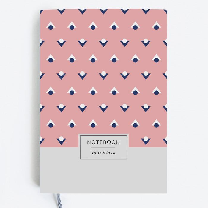 Блокнот Gifty WRITE&DRAW PINK DOTS Оригинальный Дизайнерский (19х13 см), фото 1