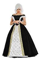 Костюм в стиле барокко женский карнавальный костюм, цвет черный \ размер 46-50 \ BL - ВЖ304