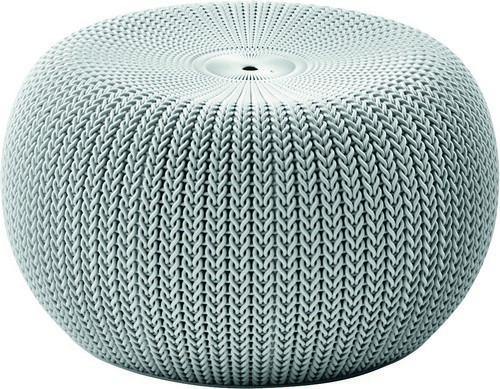 Крісло-пуф KNIT (COZIES), сірий - прохолодний сірий