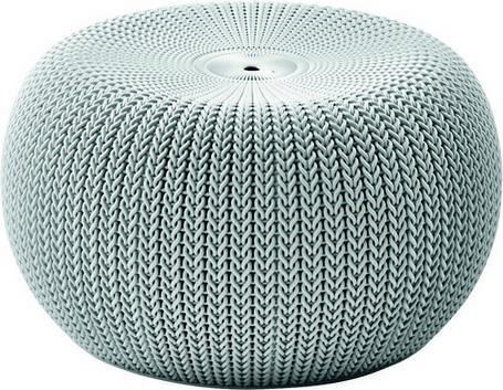 Крісло-пуф KNIT (COZIES), сірий - прохолодний сірий, фото 2