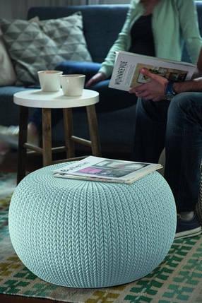 Кресло-пуф KNIT (COZIES), серый - прохладный серый, фото 2