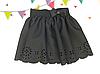Детская школьная юбка для девочки Перфорация