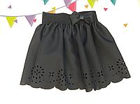 Детская школьная юбка для девочки Абстракция