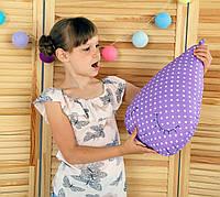 "Декоративная подушка ""Капелька"" 45х33 (фиолетовый) ТМ ""Хатка"""