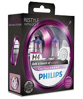 PHILIPS H4 Color Vision Purple 12V 60/55W, фото 1