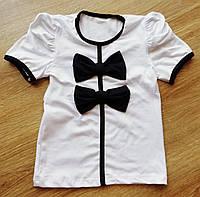 Детская красивая на двевочку блузка Бантики
