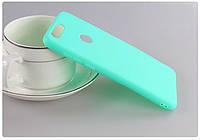 Чехол Huawei P Smart / Enjoy 7S / FIG-LX1 / FIG-LA1 / FIG-LX2 силикон soft touch бампер мятно-голубой