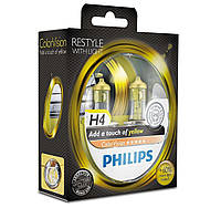PHILIPS H4 Color Vision Yellow 12V 60/55W