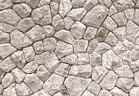 Фотообои 3 D стена с больших камней  размер 368 х 254 см