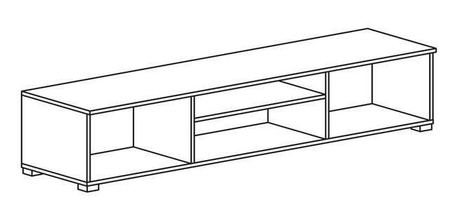 Тумба РТВ 180 Comforti B (схема)