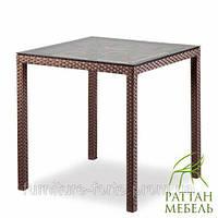 Столы и кресла из ротанга, Стол Милан Мебель для кафе, бара, ресторана, террасы, сада, оптом.