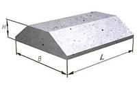 Плиты ленточных фундаментов ФЛ 10.8-2  780х1000х300мм