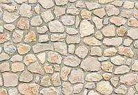 Фотообои 3 D камни в стене размер 368 х 254 см