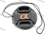 Крышка Sony Alpha диаметр 40.5мм, шнур, на объектив