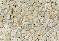 Стена с камней встык фотообои 3 D  размер 368 х 254 см