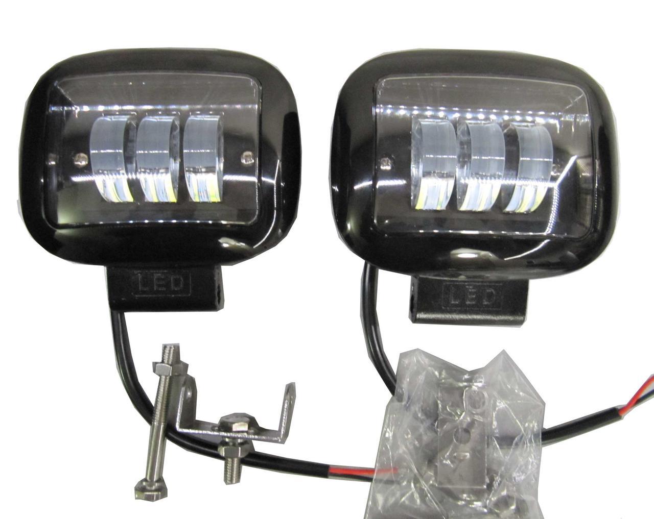 LED фары 67-30W - 2 штуки
